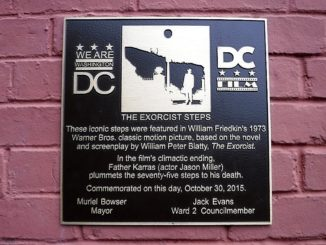 Exorcist Plaque
