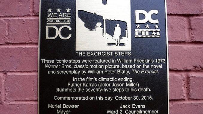 Exorcist Plaque
